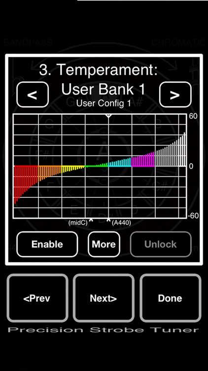 Precision Strobe Tuner screenshot-2