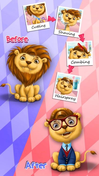 Animal Hair Salon & Dress Up screenshot-3