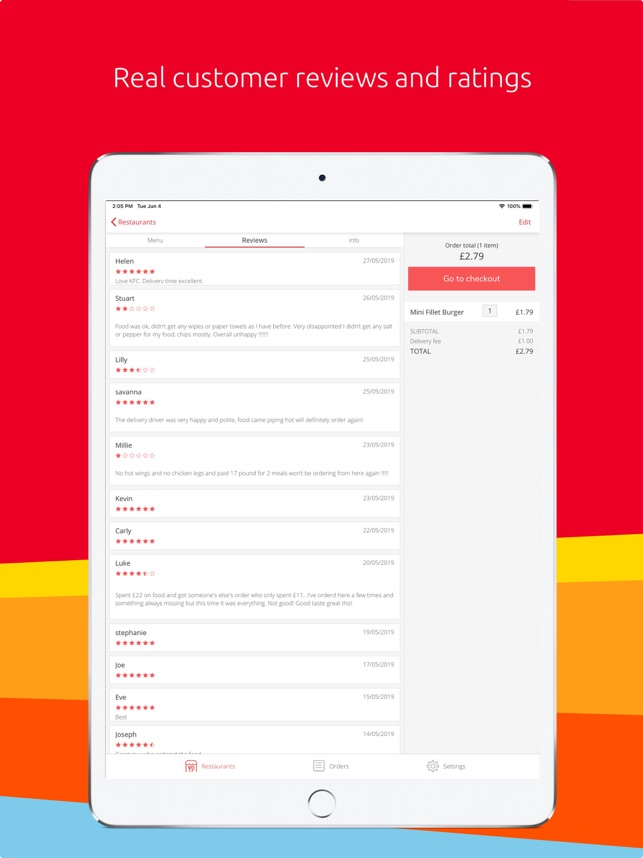 Just Eat - Food Delivery on the App Store