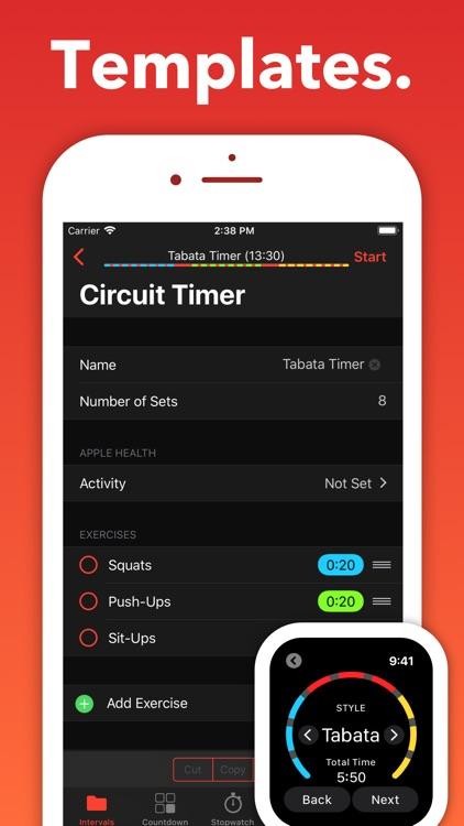 Interval Timer - Seconds screenshot-4