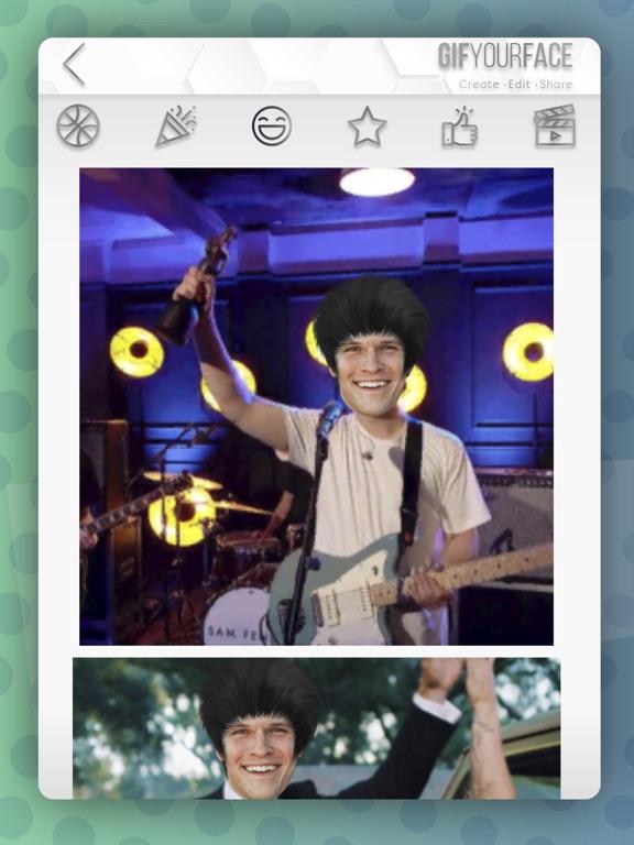 Gif Your Face - video editor screenshot 5