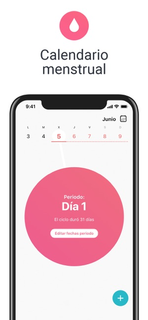 Calendario 2019 Rosa Portugues.Flo Calendario Menstrual En App Store