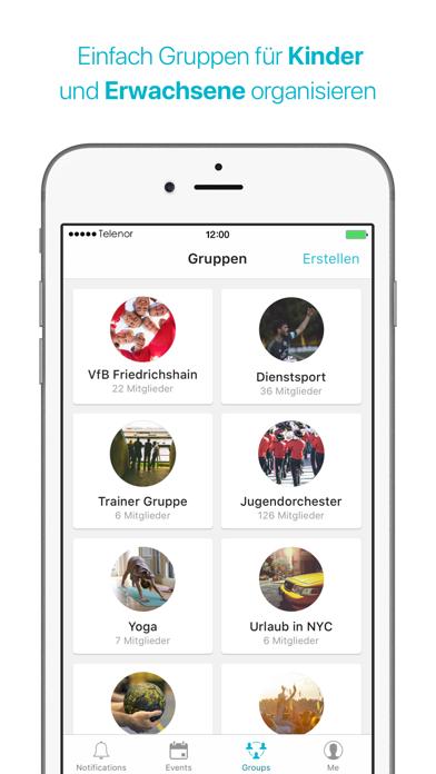 Screenshot for Spond in Austria App Store
