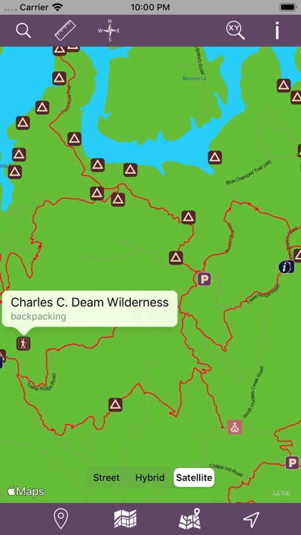 Hoosier National Forest – GPS