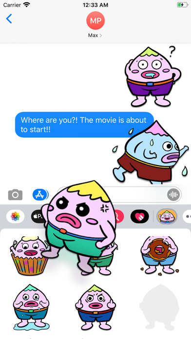 Peach Man - Sticker PackScreenshot of 2
