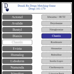 Top 200 Drug Touch Match Game