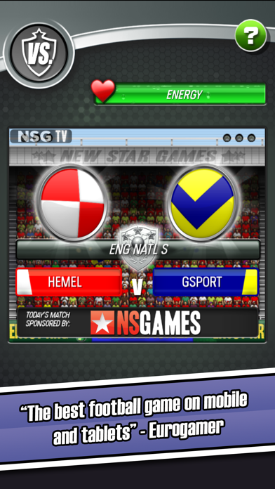 New Star Soccer screenshot one