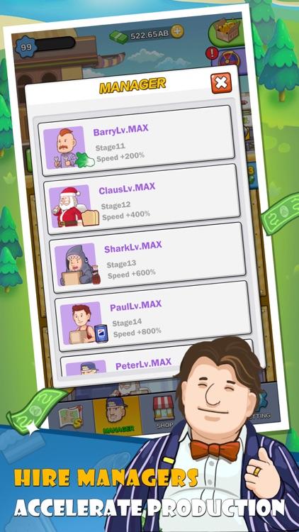 Mega Factory-Idle Game、Tycoon screenshot-4