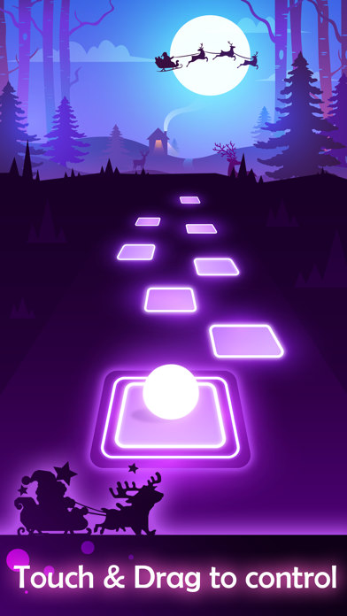 Screenshot for Tiles Hop - EDM Rush in United States App Store