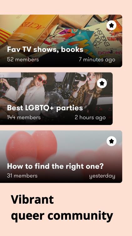 Female Gay Lesbian Chat Wonder screenshot-3