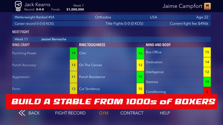 World Title Boxing Manager screenshot-4