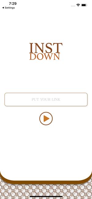 دانلود نرم افزار ذخیره تصویر و ویدیو از اینستاگرام instdown