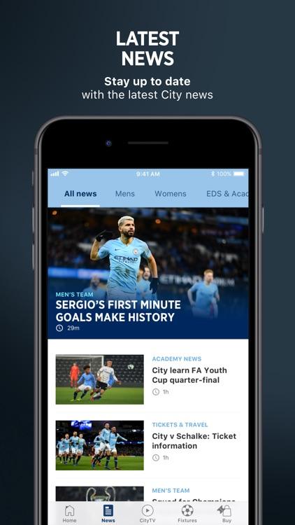 Manchester City Official App screenshot-4