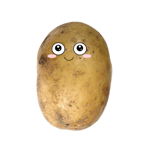 Po-Face!: Kawaii Potato Emoji