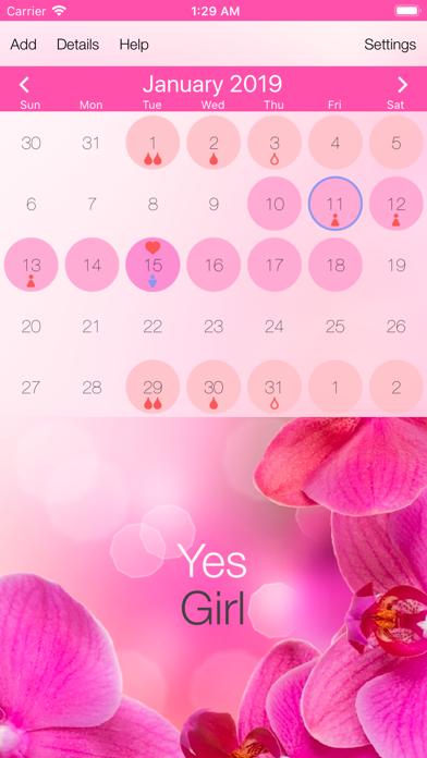 Menstrual Cycle TrackerScreenshot of 1