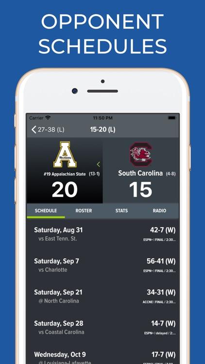 South Carolina Football App screenshot-7