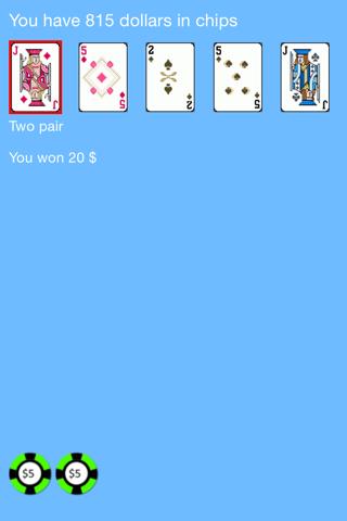 Ears Video Poker - náhled