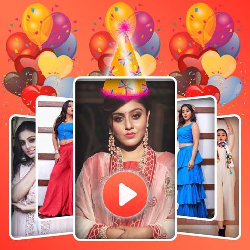 Birthday Image to Video Maker