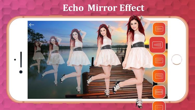 Echo Magic Mirror Photo Effect screenshot-3
