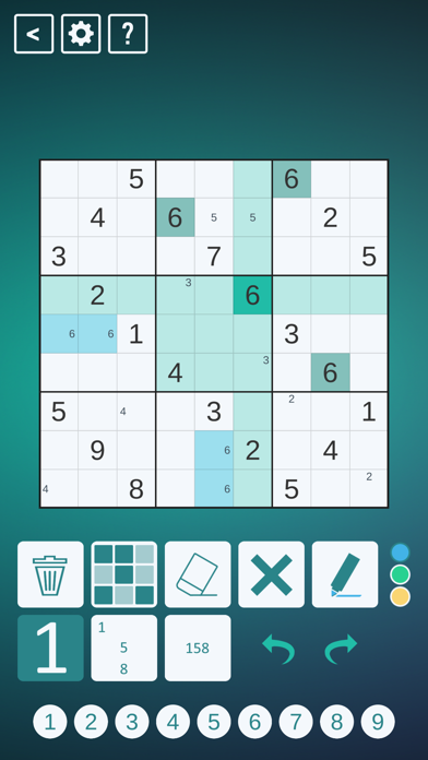 Classic Sudoku!のおすすめ画像1