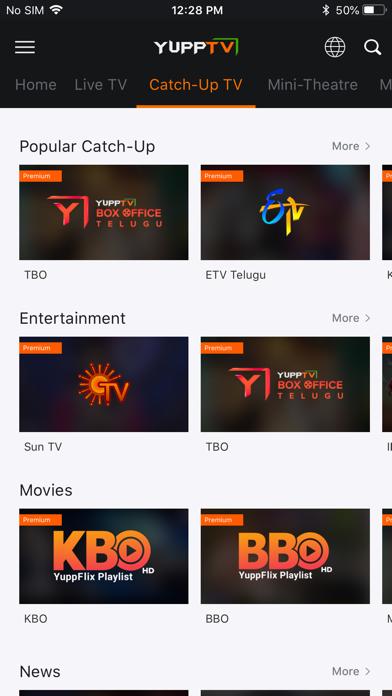 YuppTV - Live TV & Movies - Revenue & Download estimates - Apple App