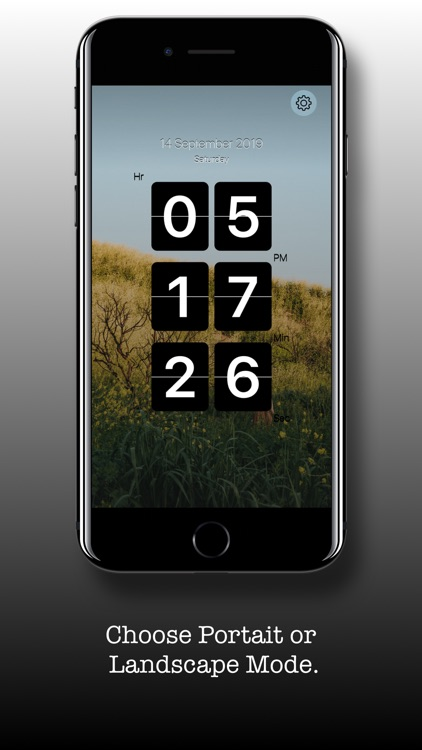 Flip Clock - Digital Clock screenshot-4