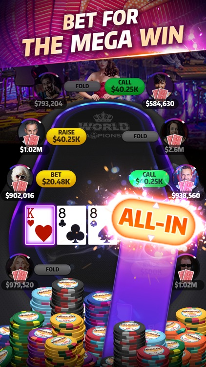Mega Hit Poker: Texas Holdem screenshot-3