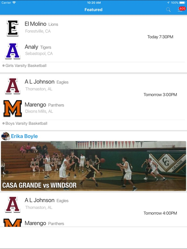 ScoreStream Sports Scores on the App Store