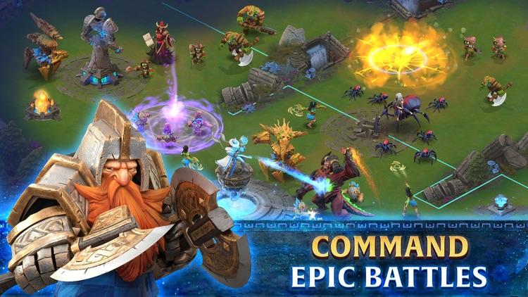 Arcane Showdown - Battle Arena