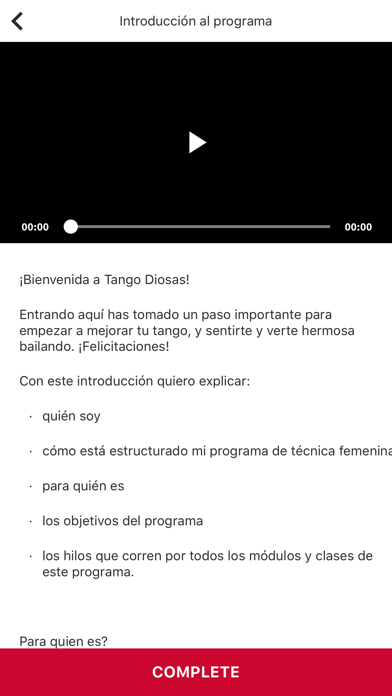 TangoDiosas screenshot 3