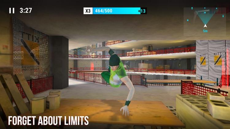 Parkour Simulator 3D screenshot-4