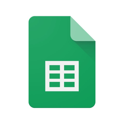 Google Sheets iOS App