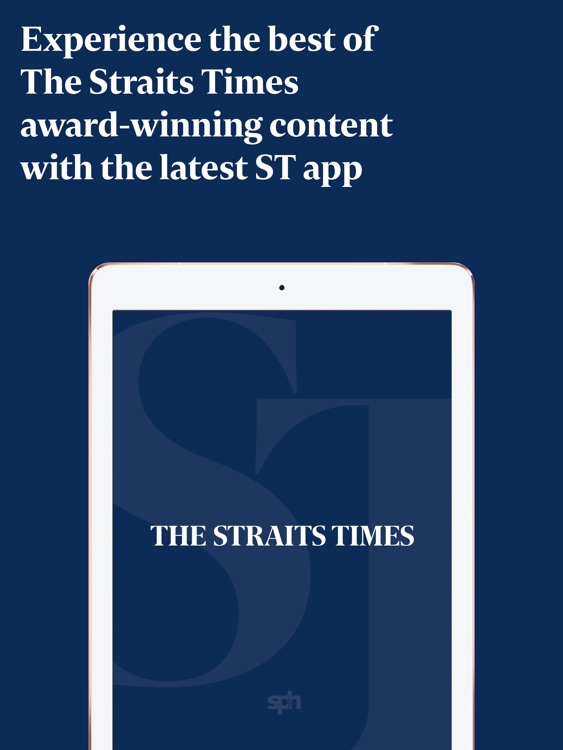 The Straits Times for iPad