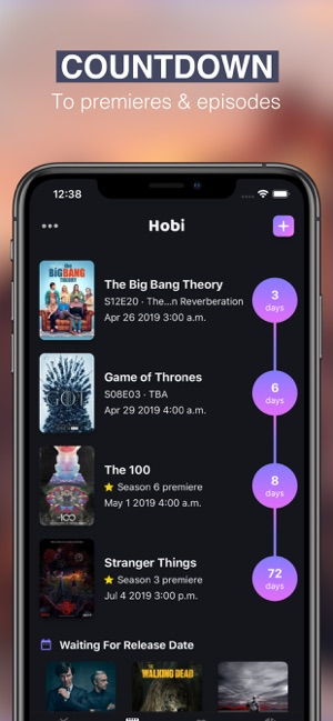 Hobi: TV Show Tracker & Trakt on the App Store