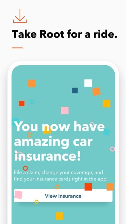 Root: Affordable car insurance screenshot-5