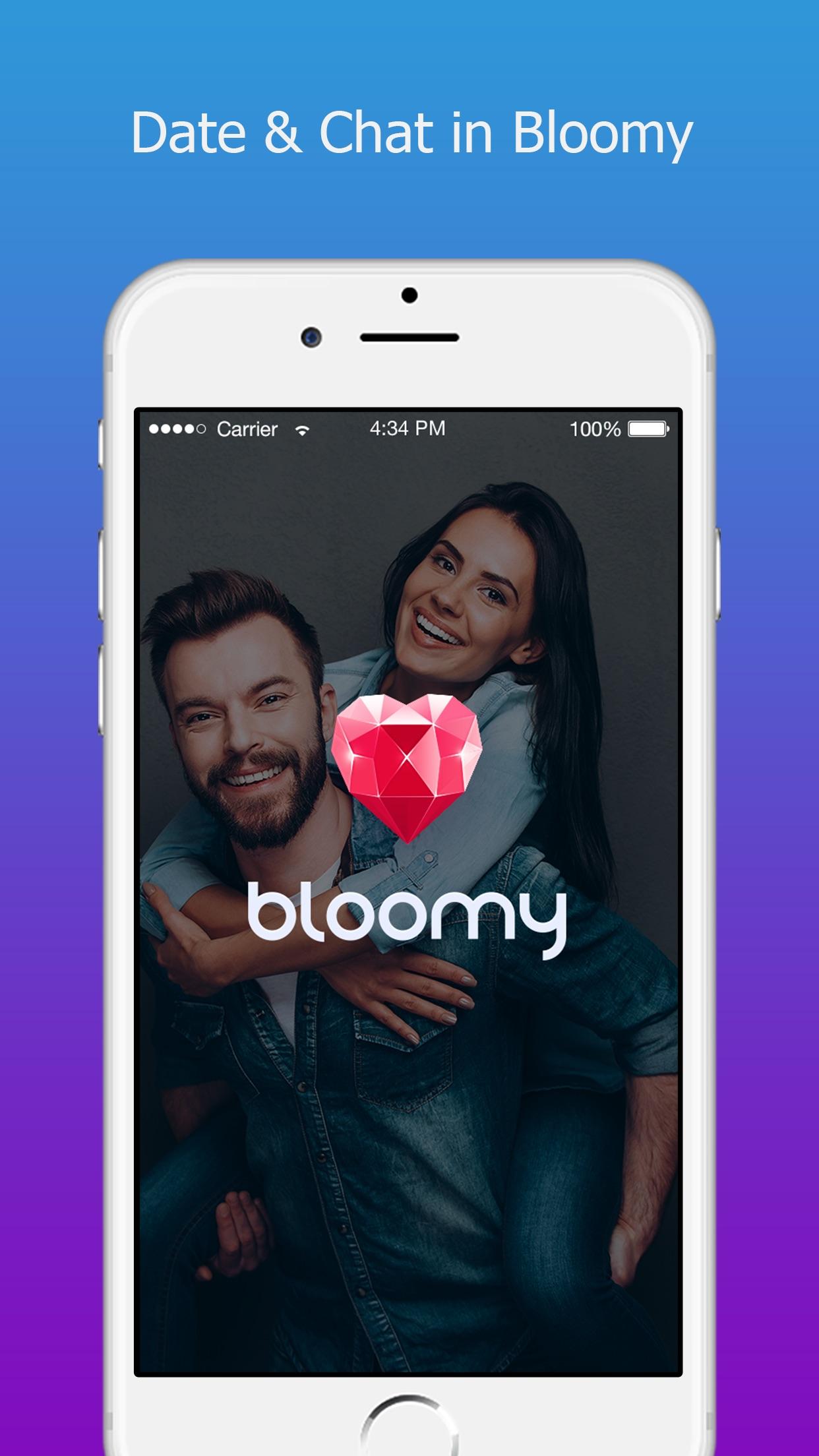 Bloomy: Best Dating App & Chat Screenshot