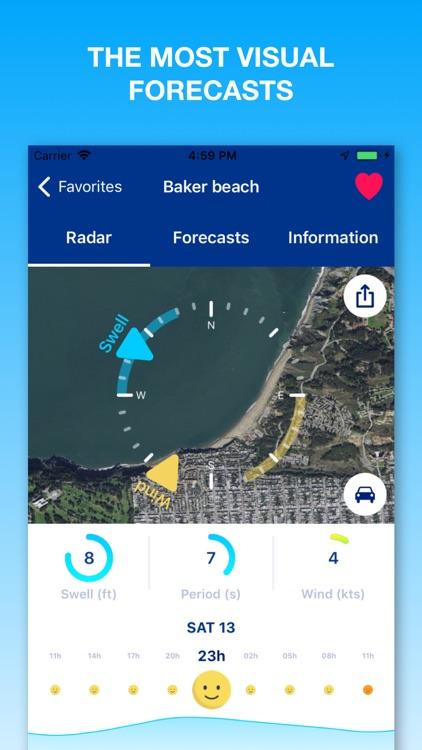 Weesurf, wave & wind forecast