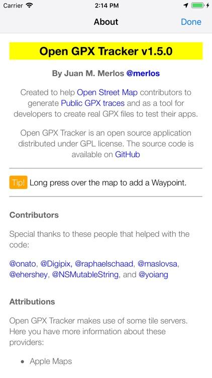 Open GPX Tracker screenshot-7