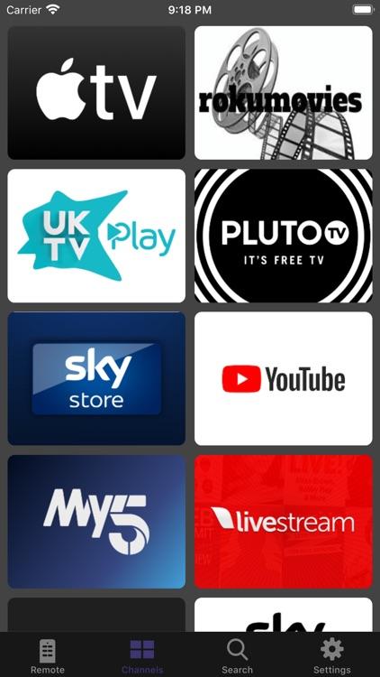 Widget Remote for Roku screenshot-8