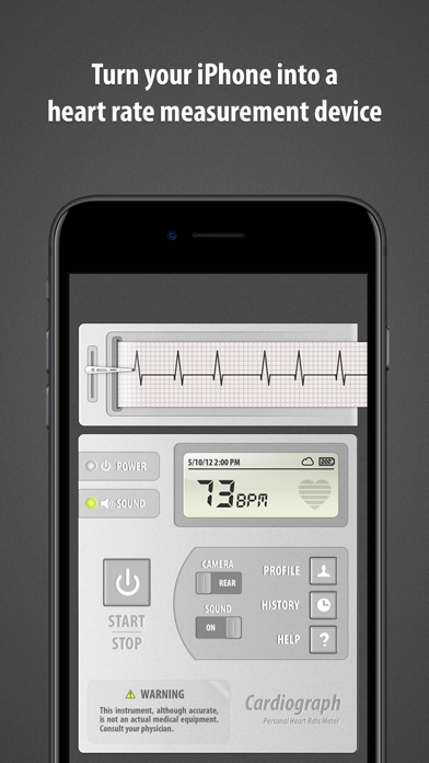 Cardiograph Classic review screenshots