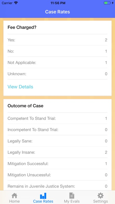 Screenshot for Case Rate in United States App Store