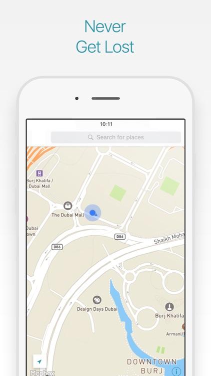 Dubai Travel Guide and Map screenshot-3