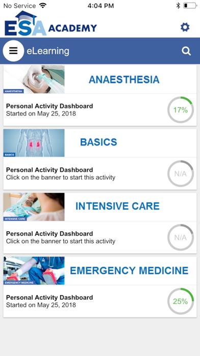 ESA Academy screenshot two