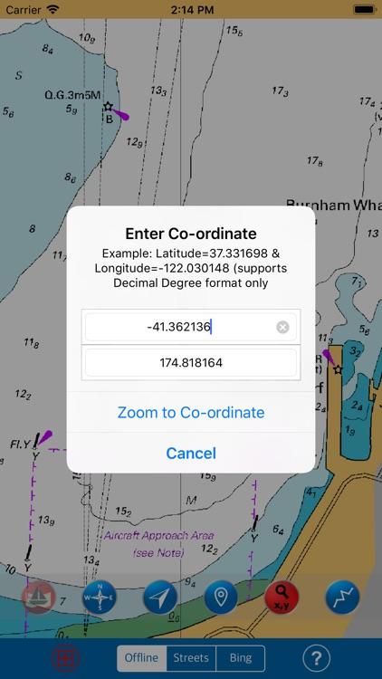 Wellington (New Zealand) GPS screenshot-3