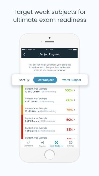 NPTE-PT Pocket PrepScreenshot of 5