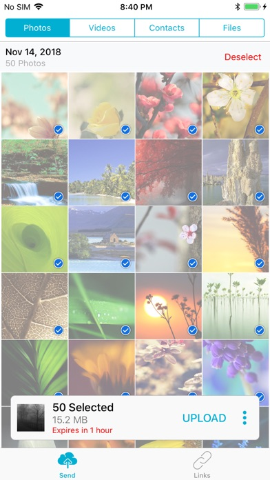 Up: Instant File Sharing screenshot two