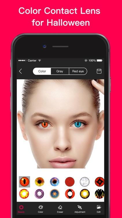 Magic Eye Color-Face Makeup screenshot-6