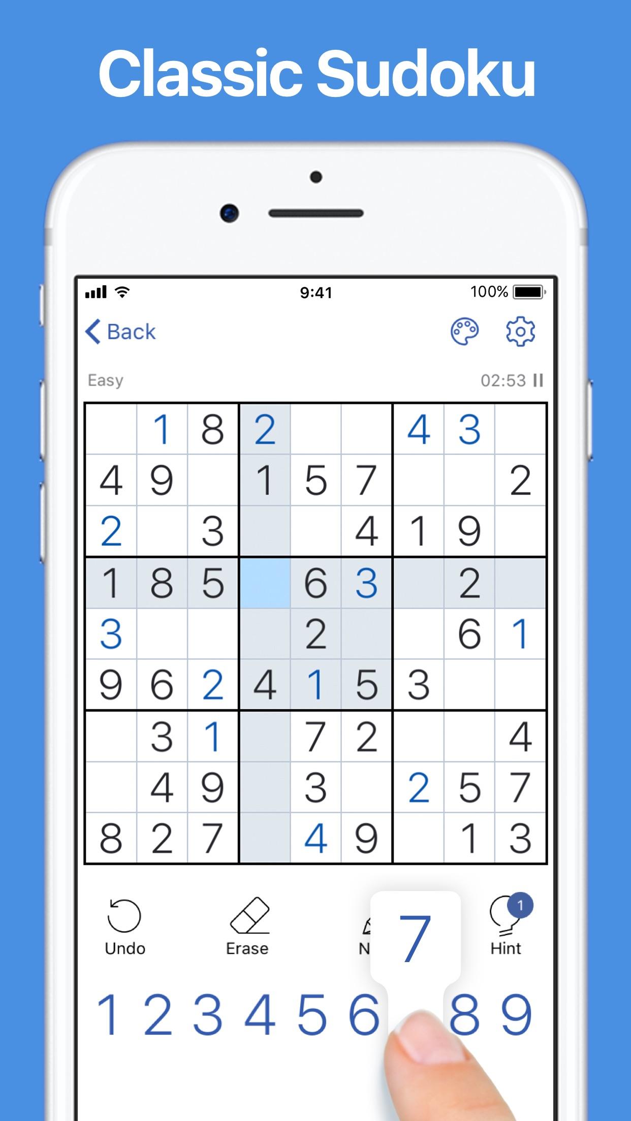 Sudoku.com - Puzzle Game Screenshot