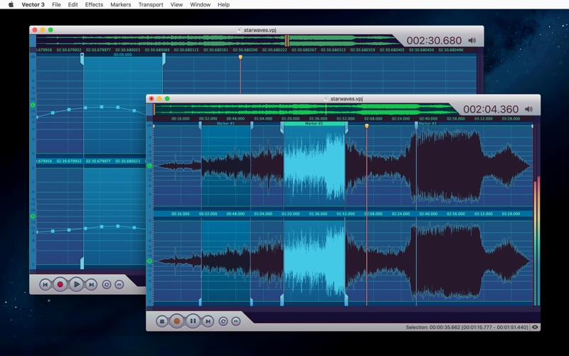 Vector 3 - Record & Edit Audio Screenshot 3