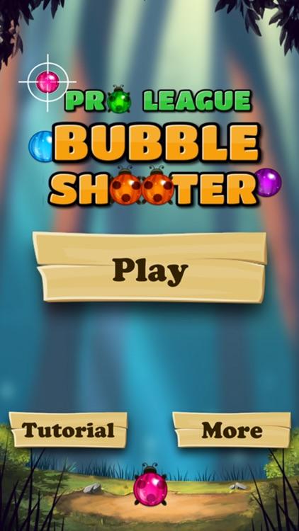 Pro League Bubble Shooter Game